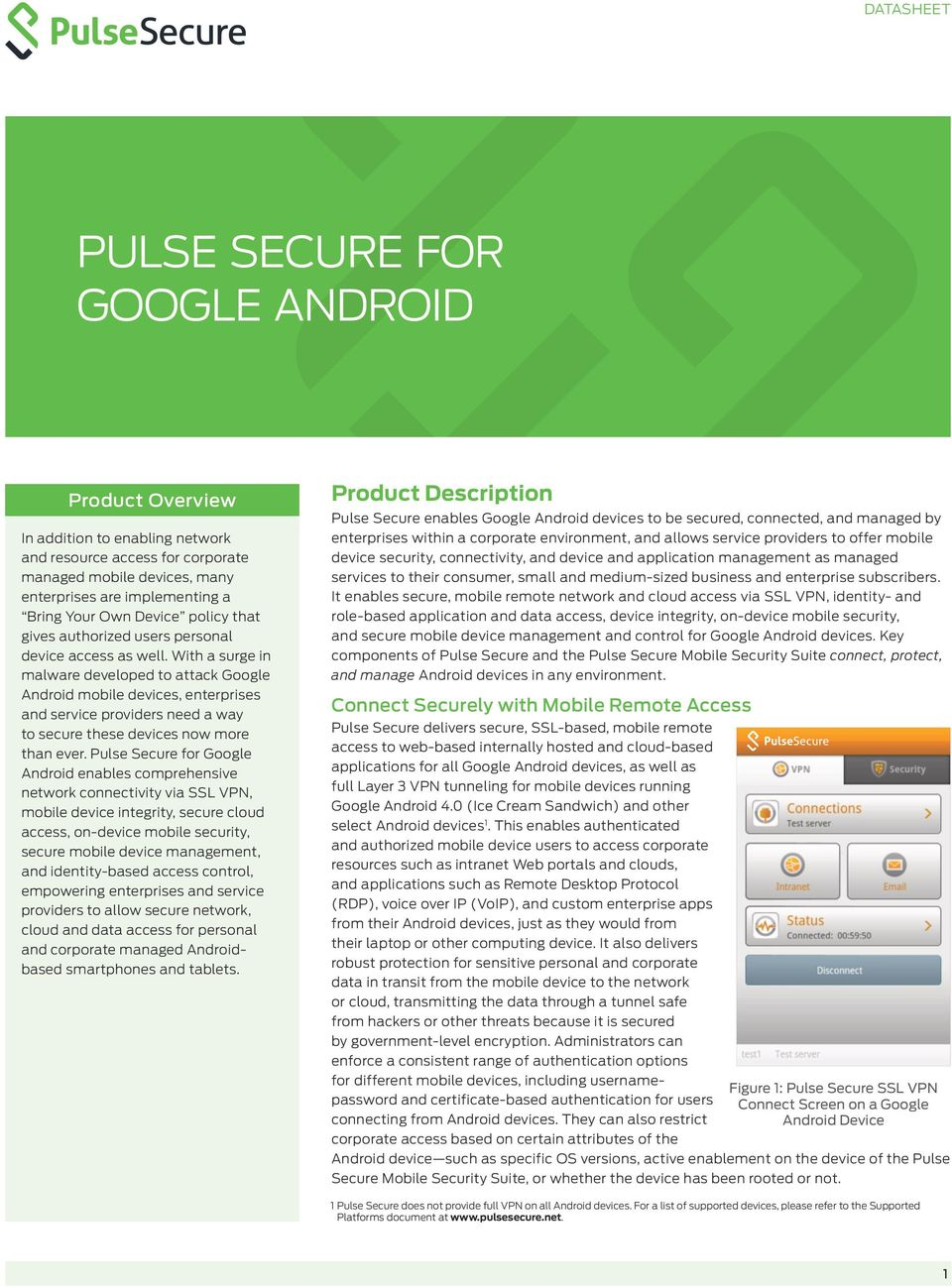With a surge in malware developed to attack Google Android mobile devices, enterprises and service providers need a way to secure these devices now more than ever.