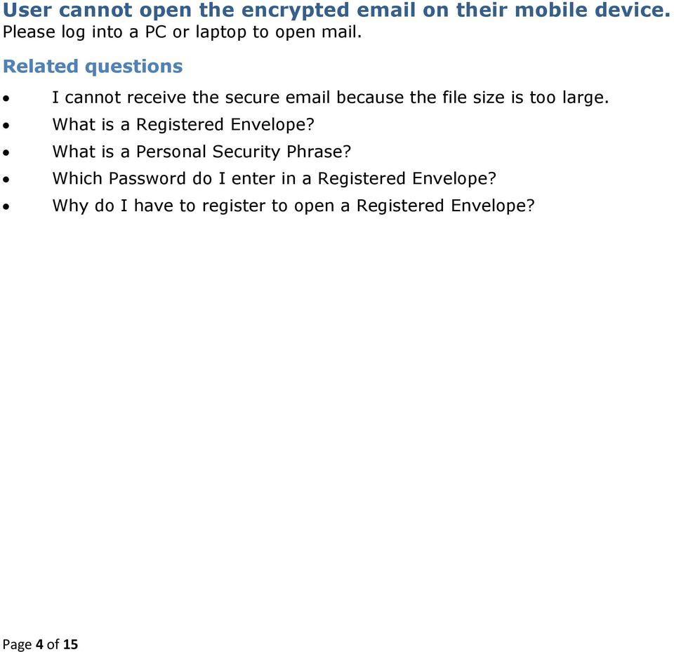 Why do I have to register to