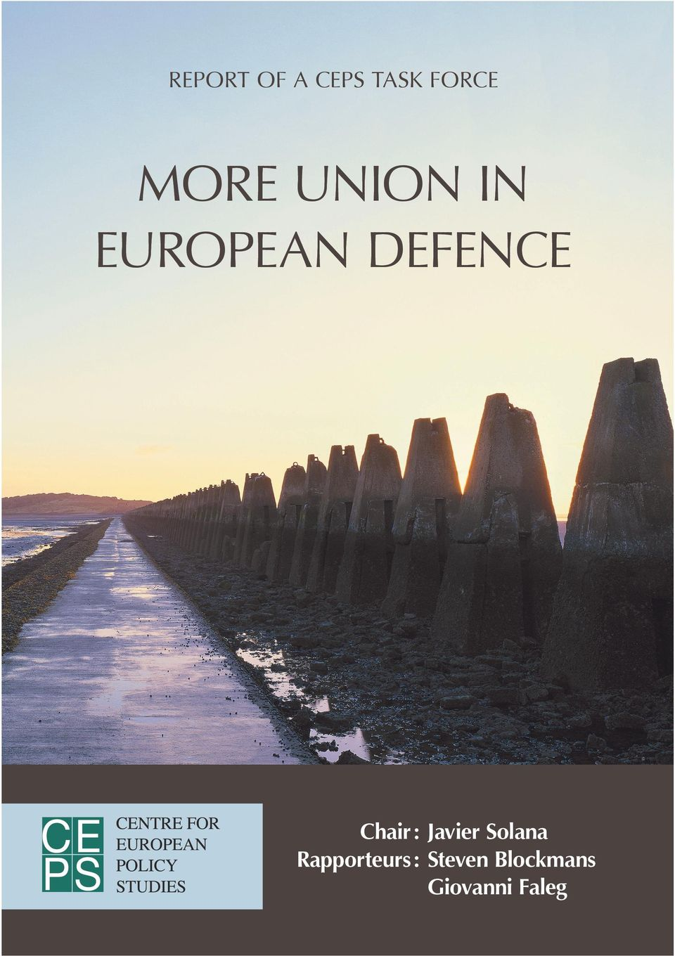 narrative to strengthen defence cooperation in the EU. The Treaty of Lisbon demands and permits a great deal more in terms of our common security and defence activities.