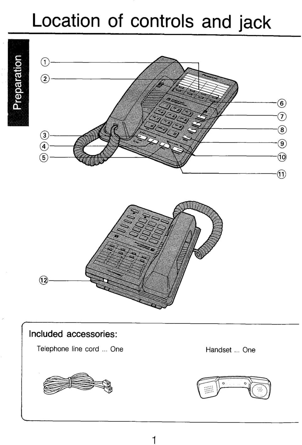 accessories: Telephone