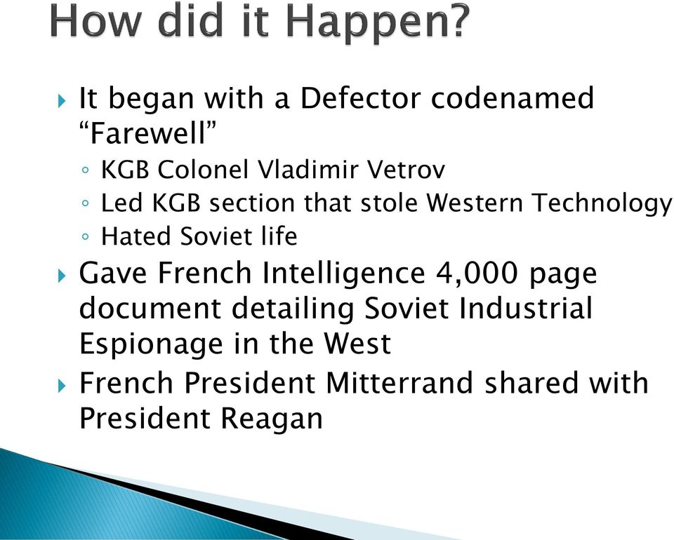 French Intelligence 4,000 page document detailing Soviet Industrial