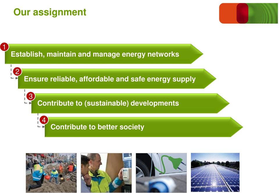 and safe energy supply 3 Contribute to