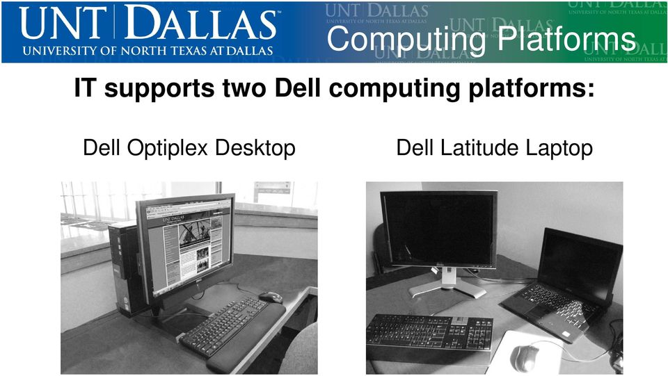 computing platforms: Dell