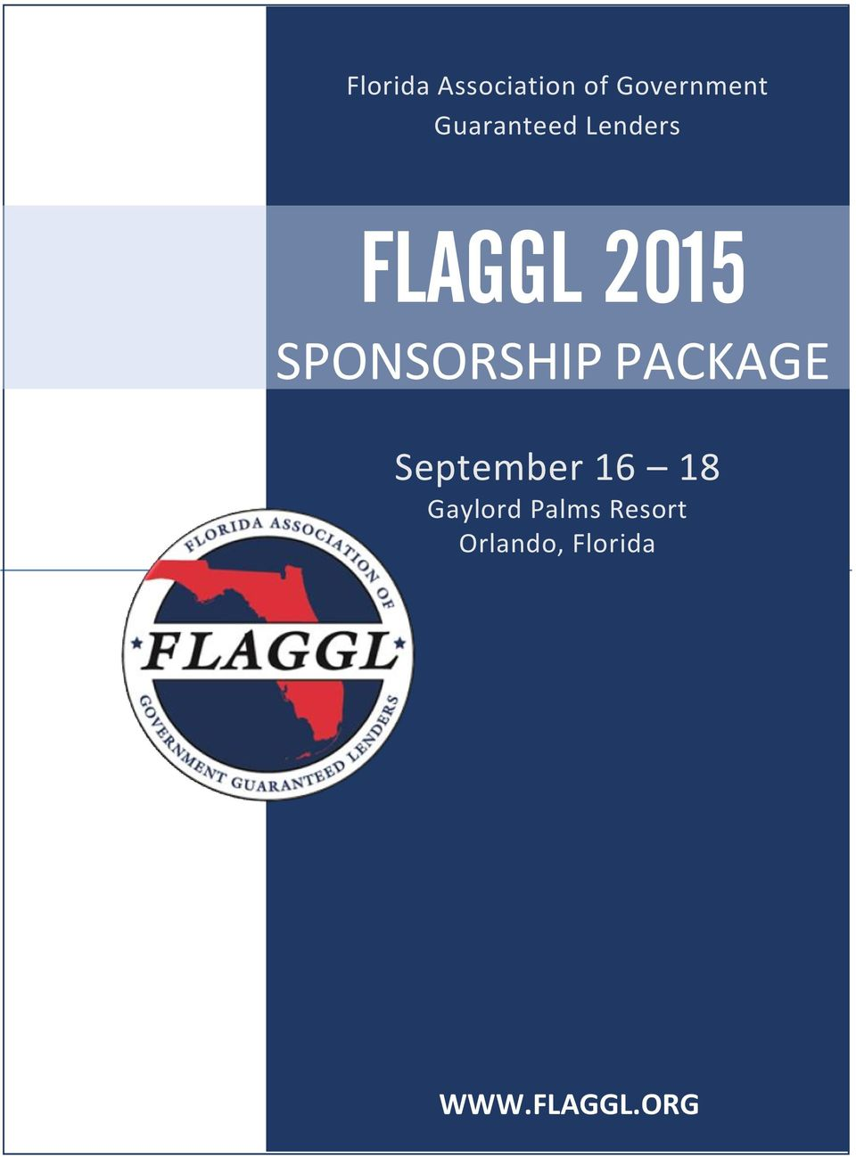 SPONSORSHIP PACKAGE September 16 18