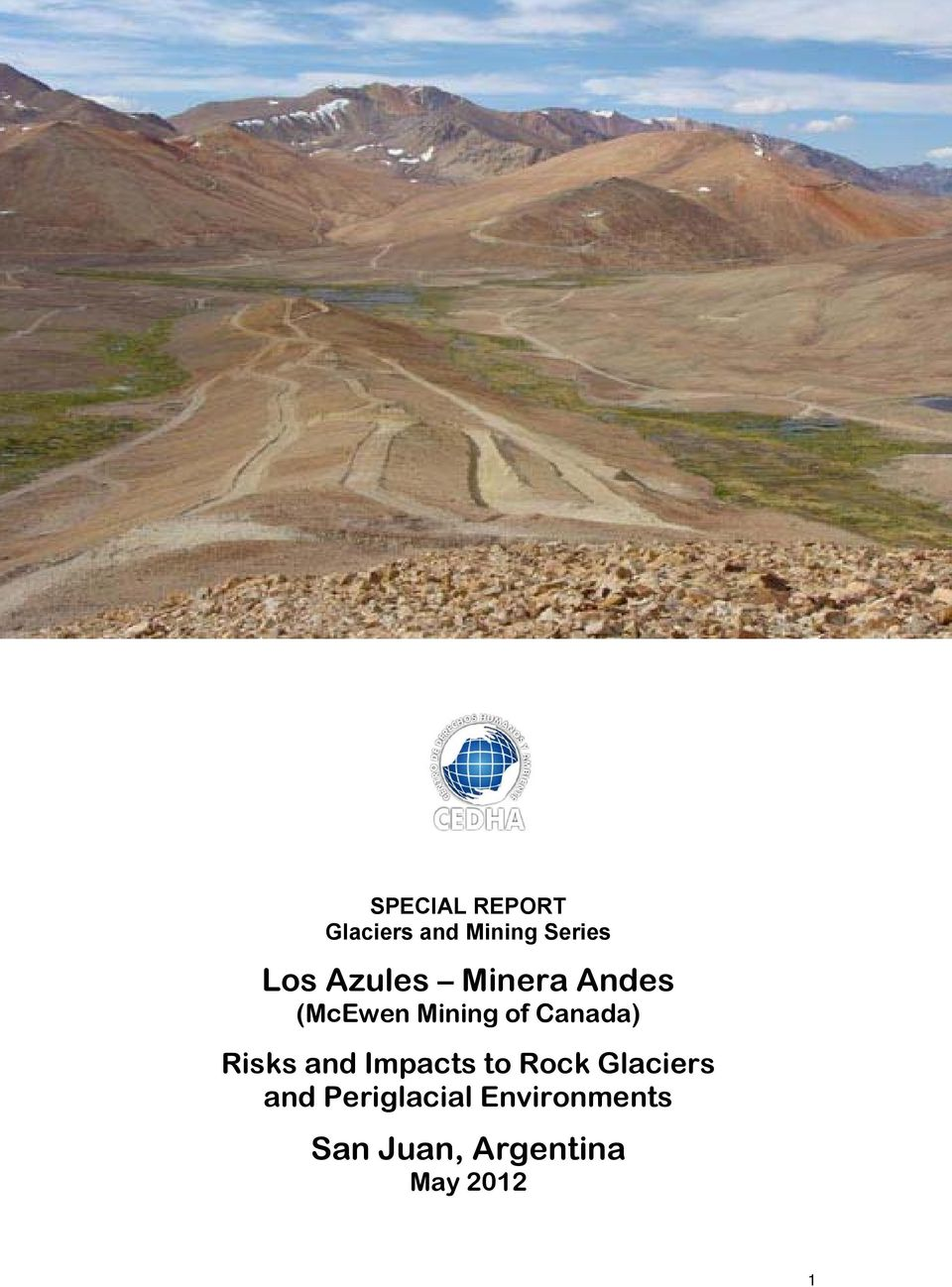 Risks and Impacts to Rock Glaciers and