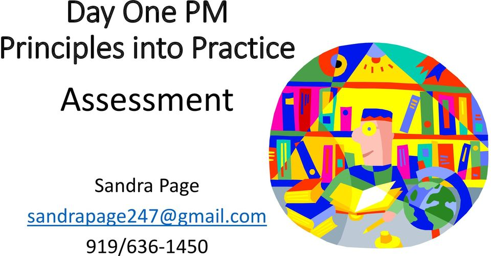 Assessment Sandra Page