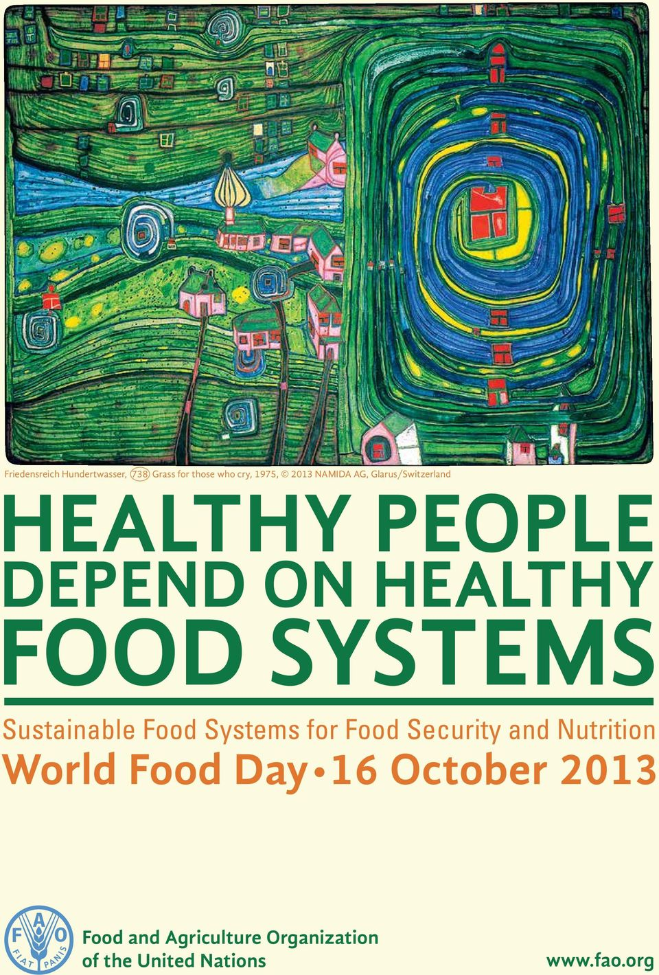 systems Sustainable Food Systems for Food Security and Nutrition World