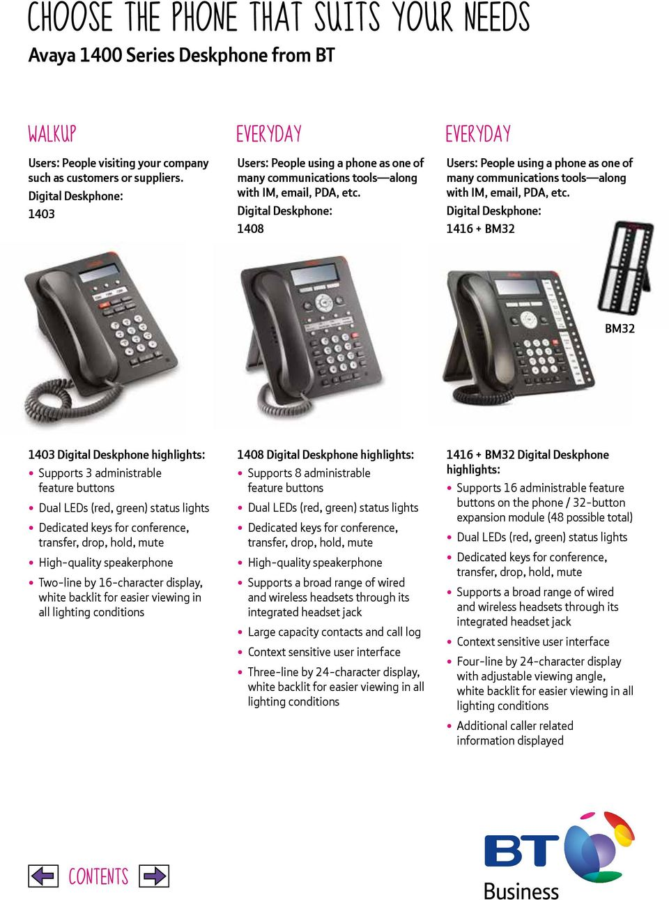 Digital Deskphone: 1408 Users: People using a phone as one of many communications tools along with IM, email, PDA, etc.