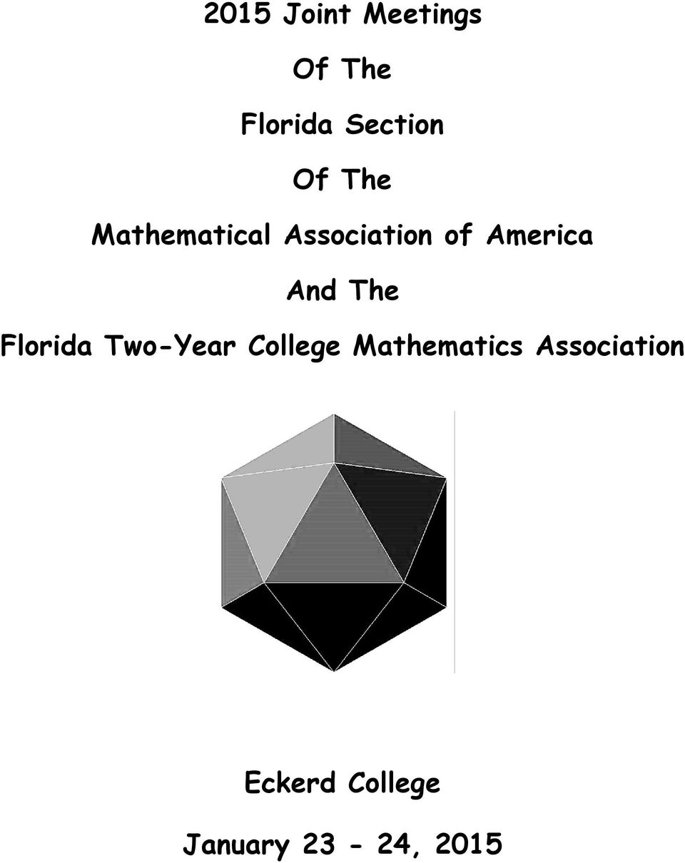 And The Florida Two-Year College Mathematics