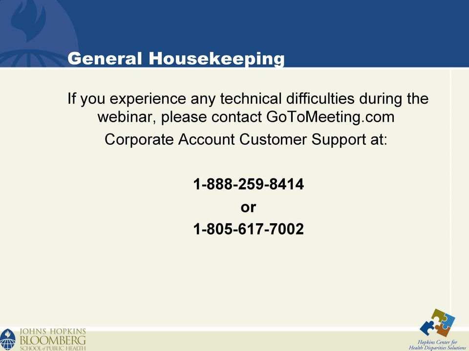 please contact GoToMeeting.