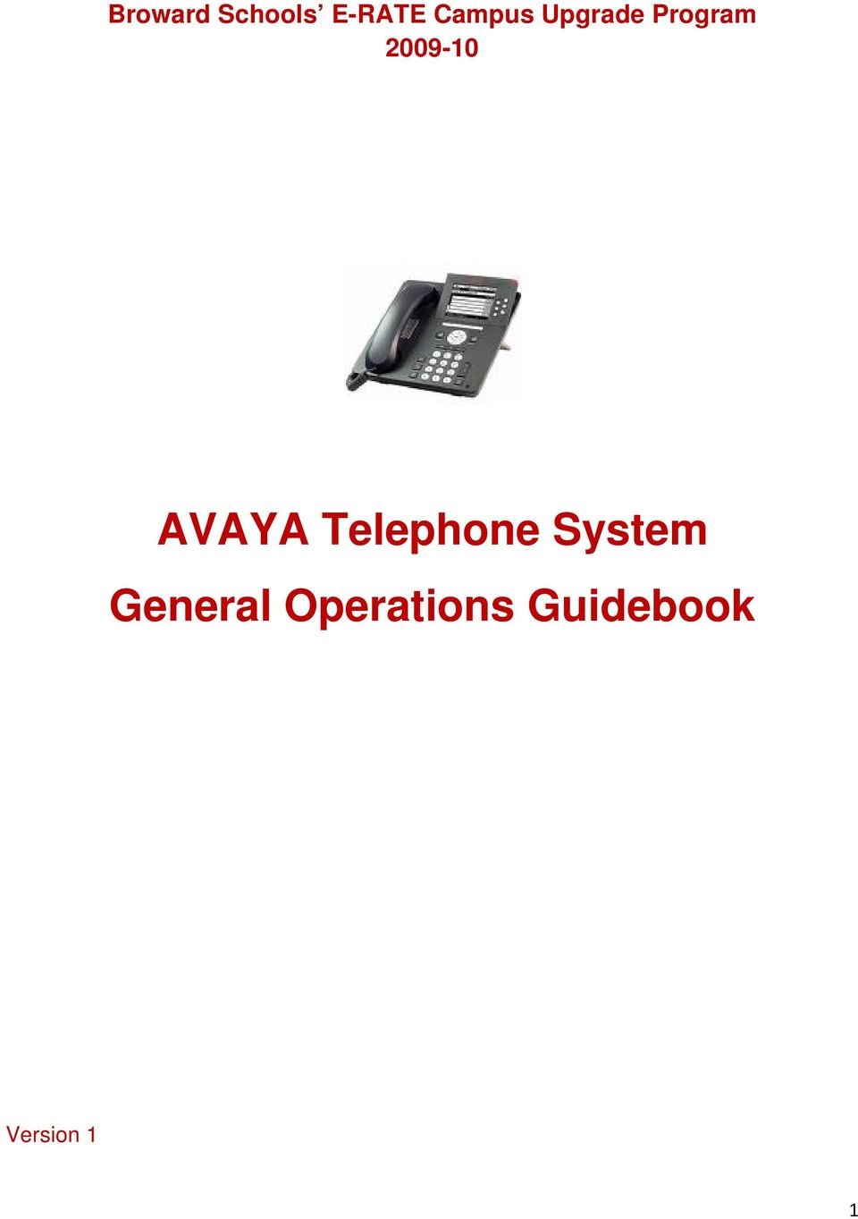 Telephone System General