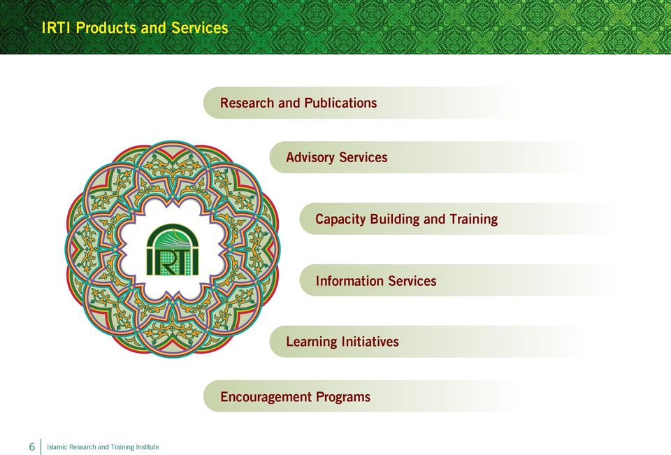and Training Information Services Learning
