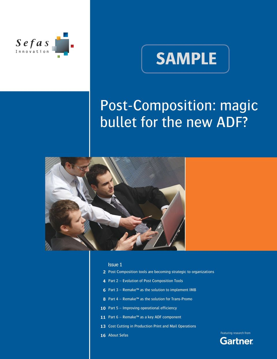 Post Composition Tools Part 3 Remake as the solution to implement IMB Part 4 Remake as the solution for