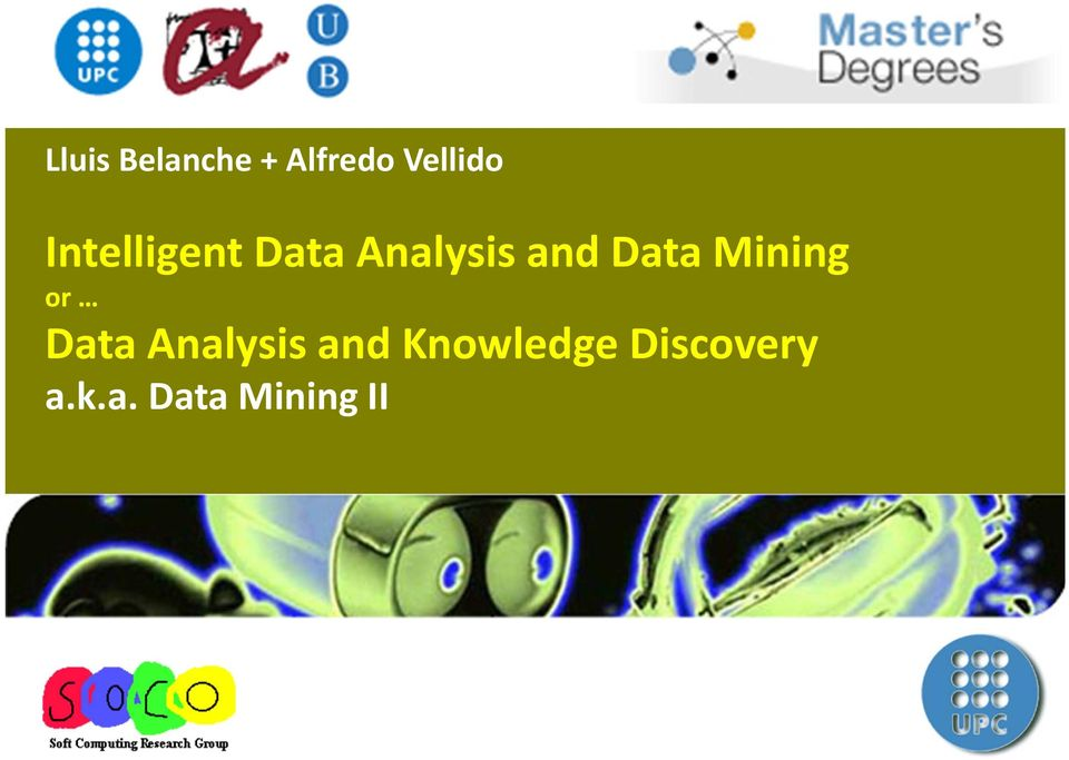 Mining or Data Analysis and