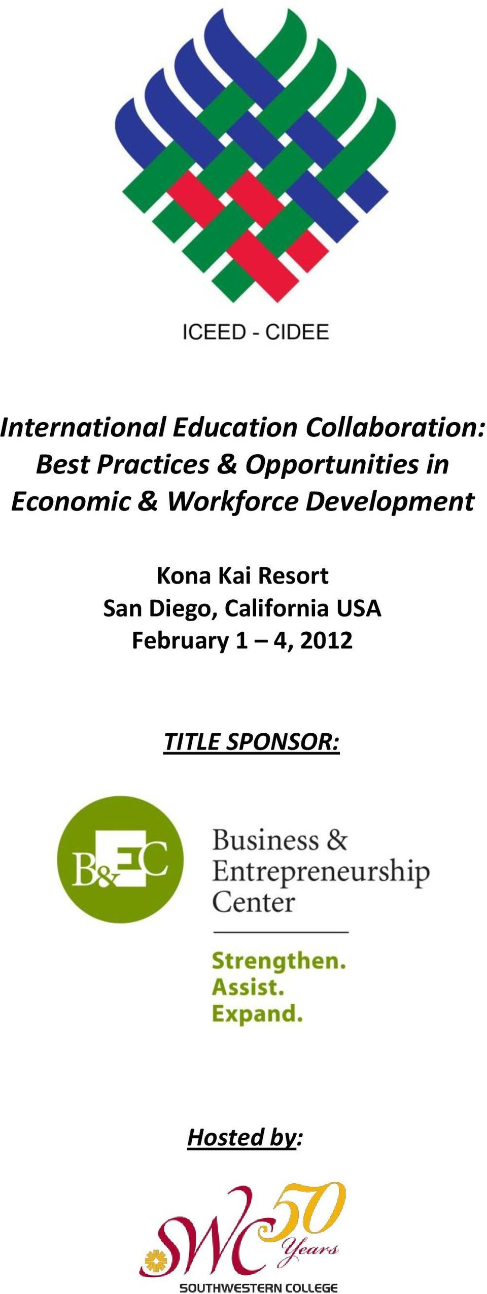 Workforce Development Kona Kai Resort San