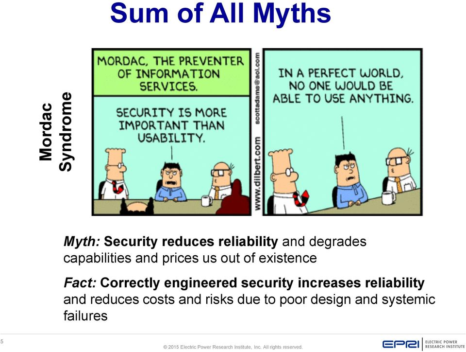 existence Fact: Correctly engineered security increases