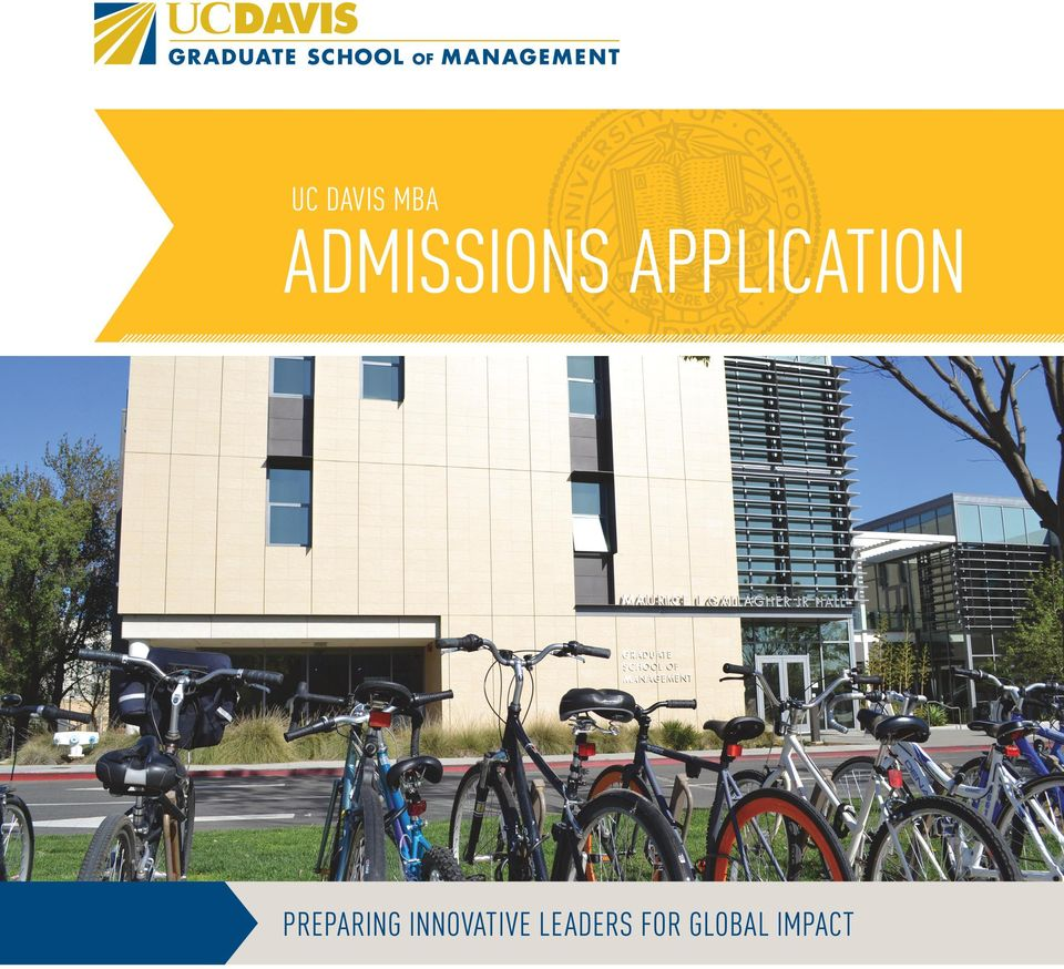 ADMISSIONS APPLICATION  GLOBAL