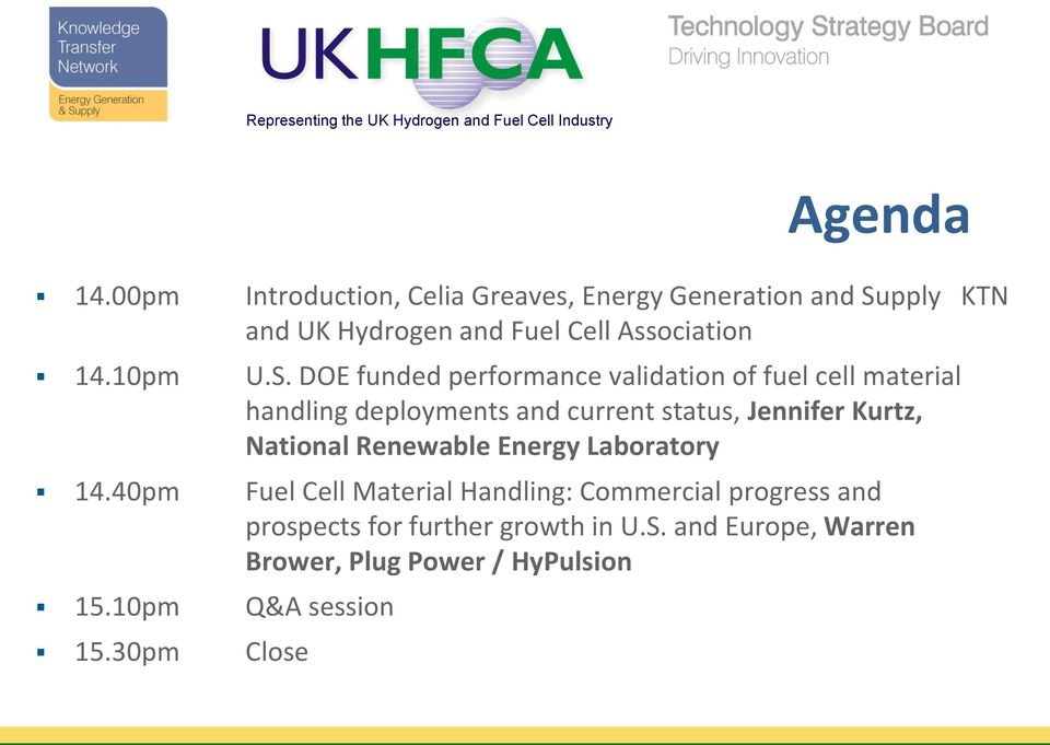 pply KTN and UK Hydrogen and Fuel Cell Association 14.10pm U.S.