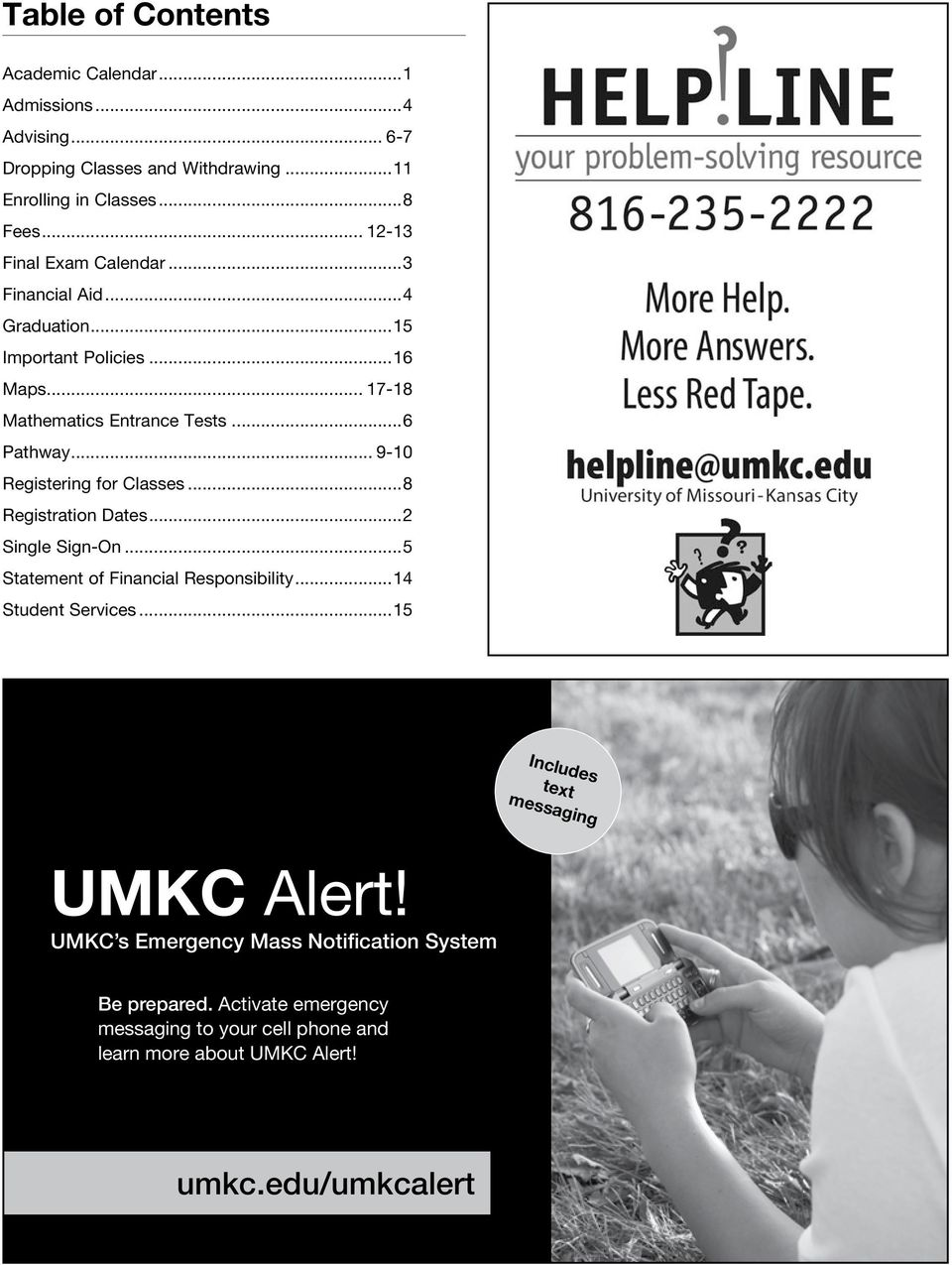 Umkc Academic Calendar.Registration Quick Guide Spring Steps To Registration Pdf