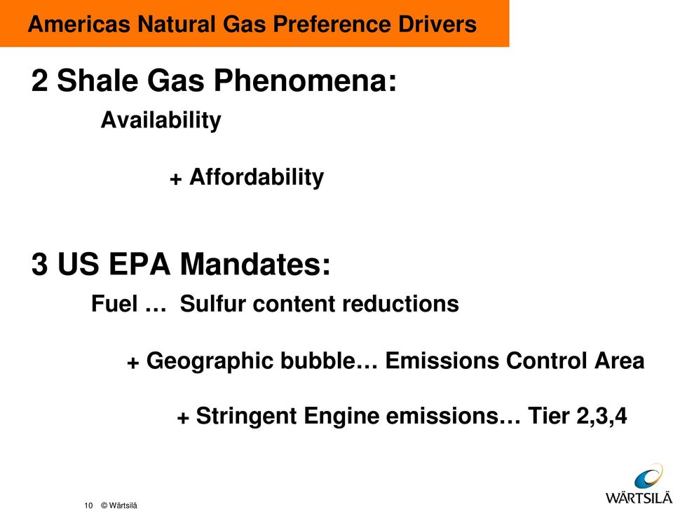Fuel Sulfur content reductions + Geographic bubble