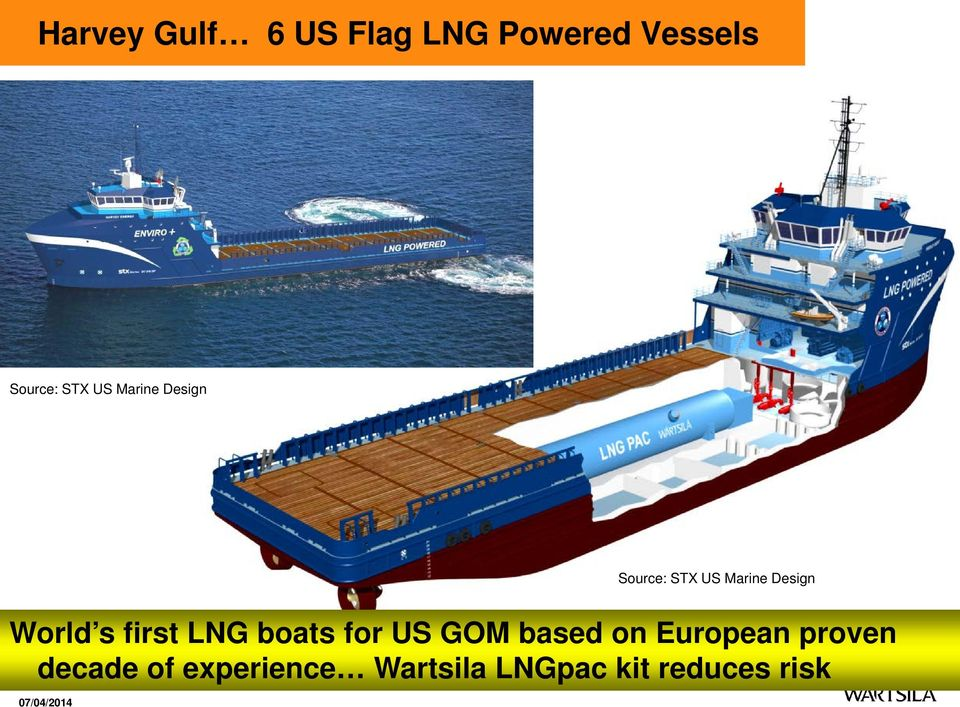 first LNG boats for US GOM based on European proven