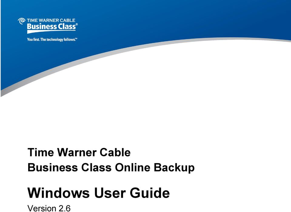 Class Online Backup