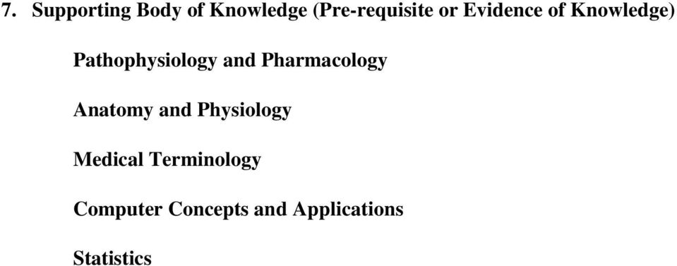 Pharmacology Anatomy and Physiology Medical