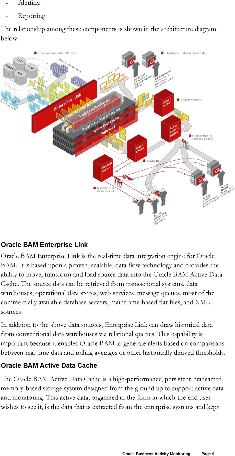 It is based upon a proven, scalable, data flow technology and provides the ability to move, transform and load source data into the Oracle BAM Active Data Cache.