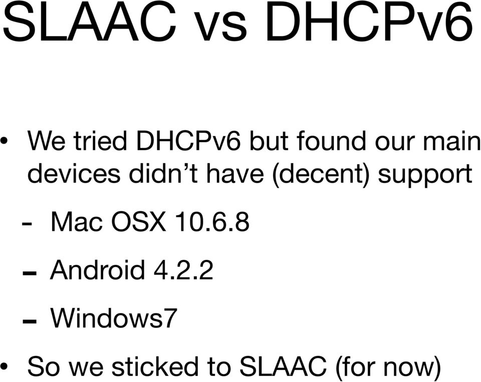 (decent) support - Mac OSX 10.6.