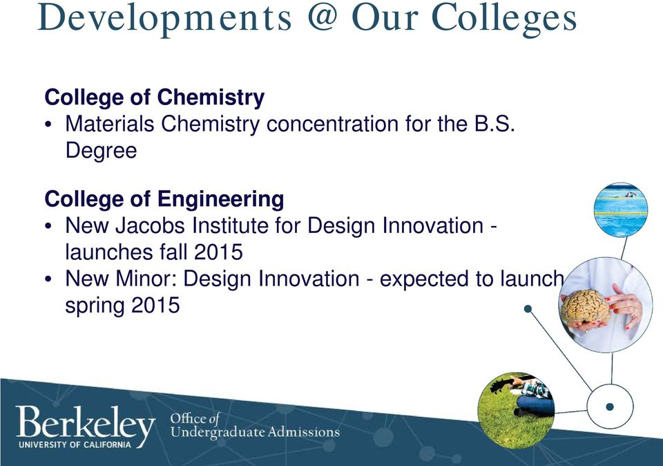 Degree College of Engineering New Jacobs Institute for Design