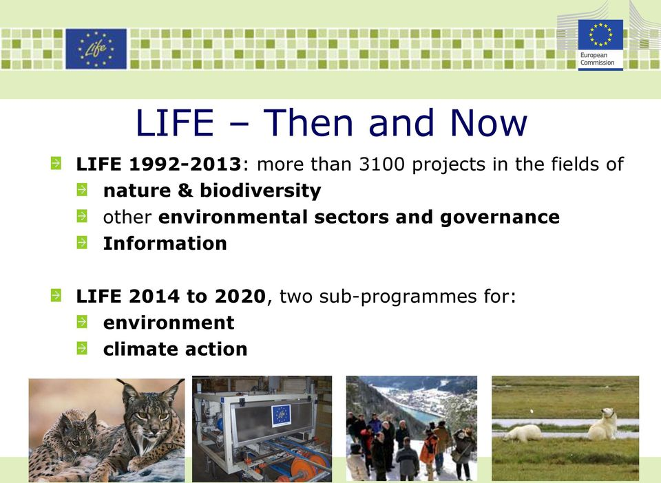 environmental sectors and governance Information LIFE