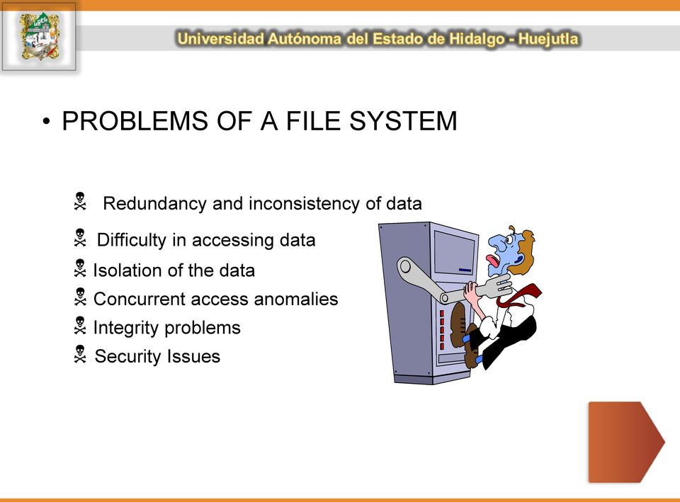 accessing data Isolation of the data