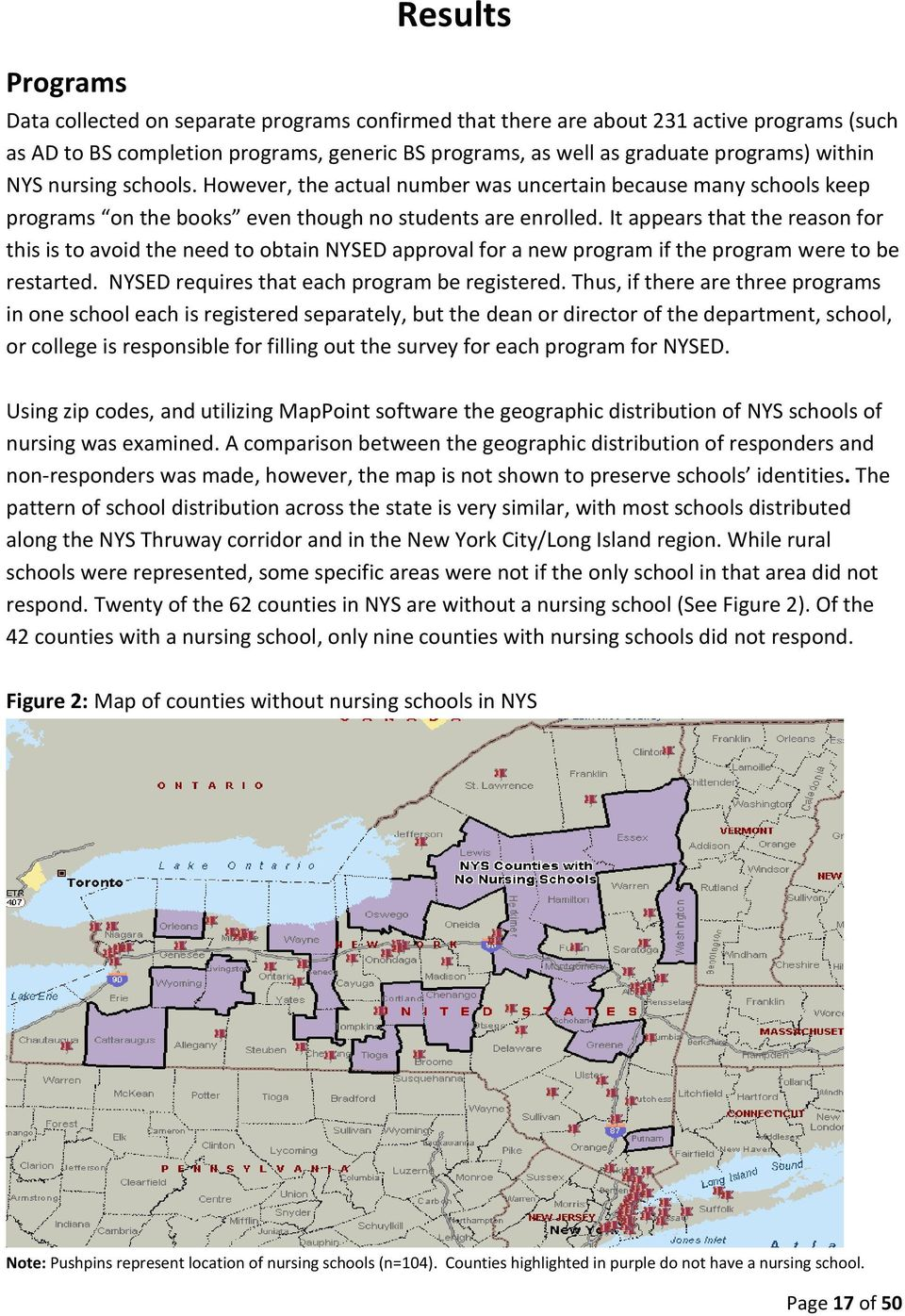 It appears that the reason for this is to avoid the need to obtain NYSED approval for a new program if the program were to be restarted. NYSED requires that each program be registered.