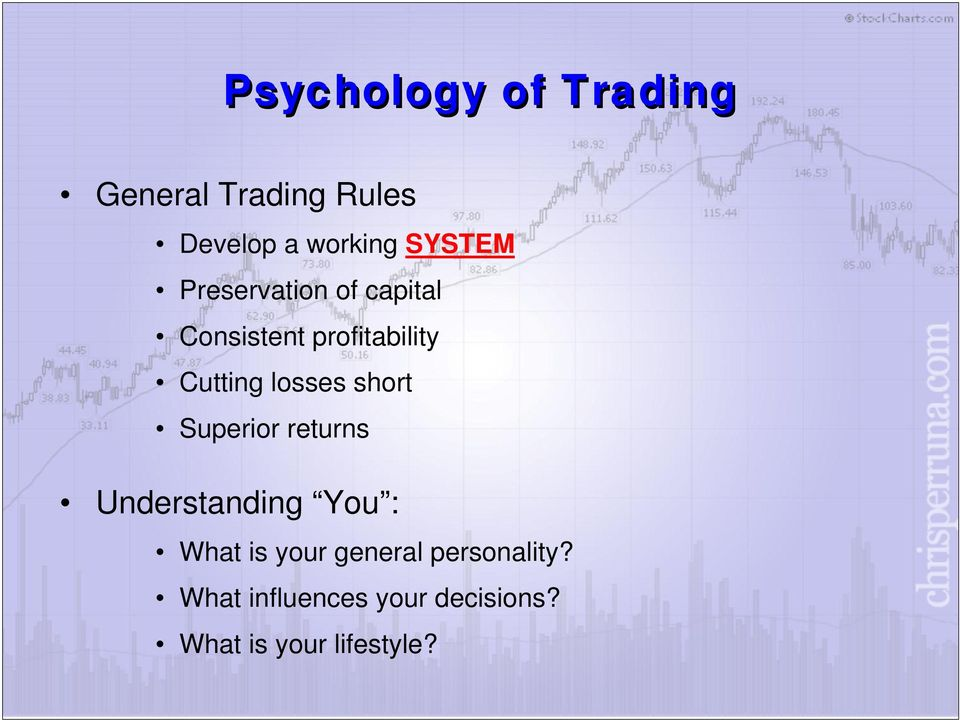 How to develop a winning trading system that fits you pdf