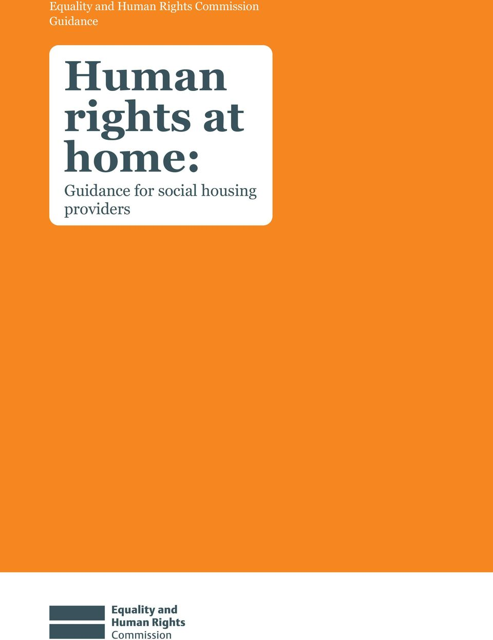rights at home: Guidance
