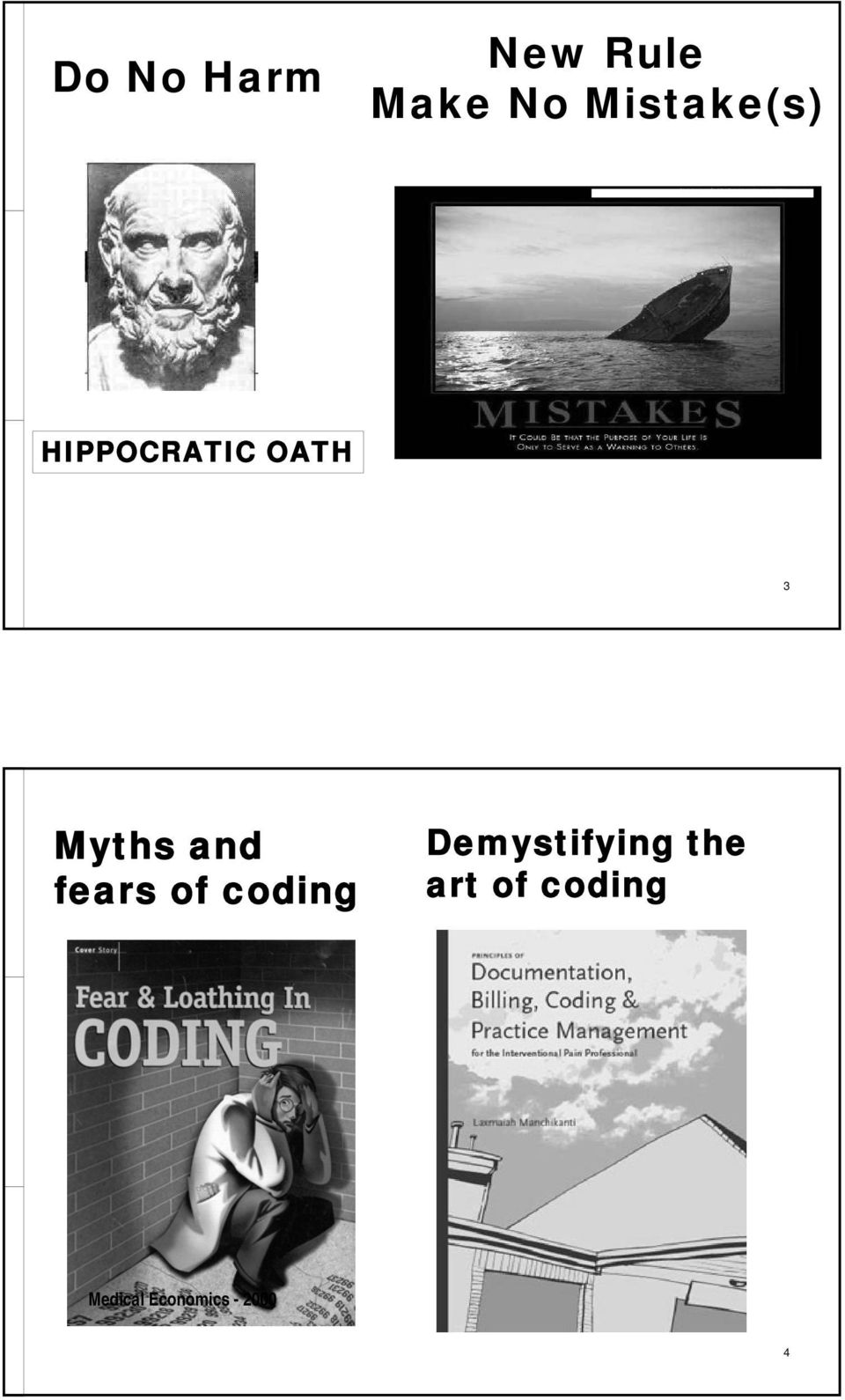 and fears of coding Demystifying