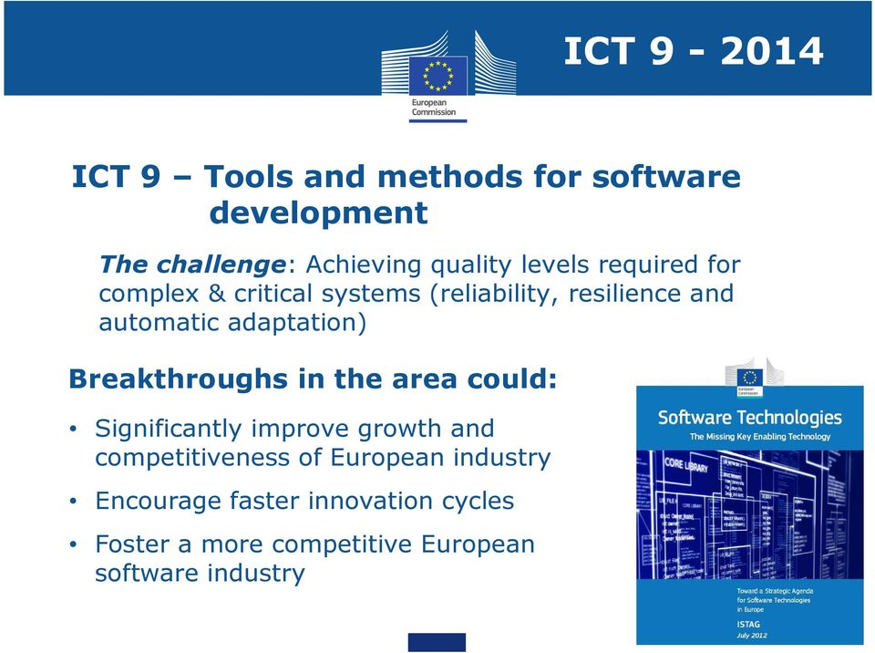 adaptation) Breakthroughs in the area could: Significantly improve growth and competitiveness