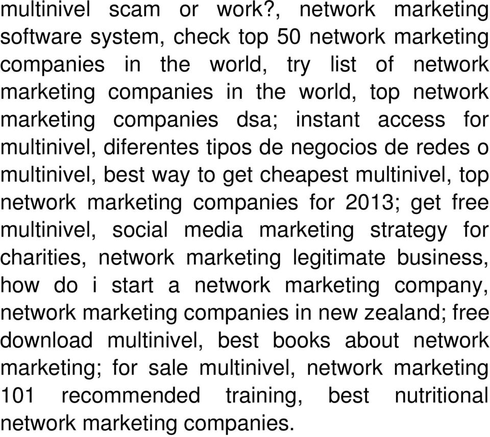 instant access for multinivel, diferentes tipos de negocios de redes o multinivel, best way to get cheapest multinivel, top network marketing companies for 2013; get free multinivel,