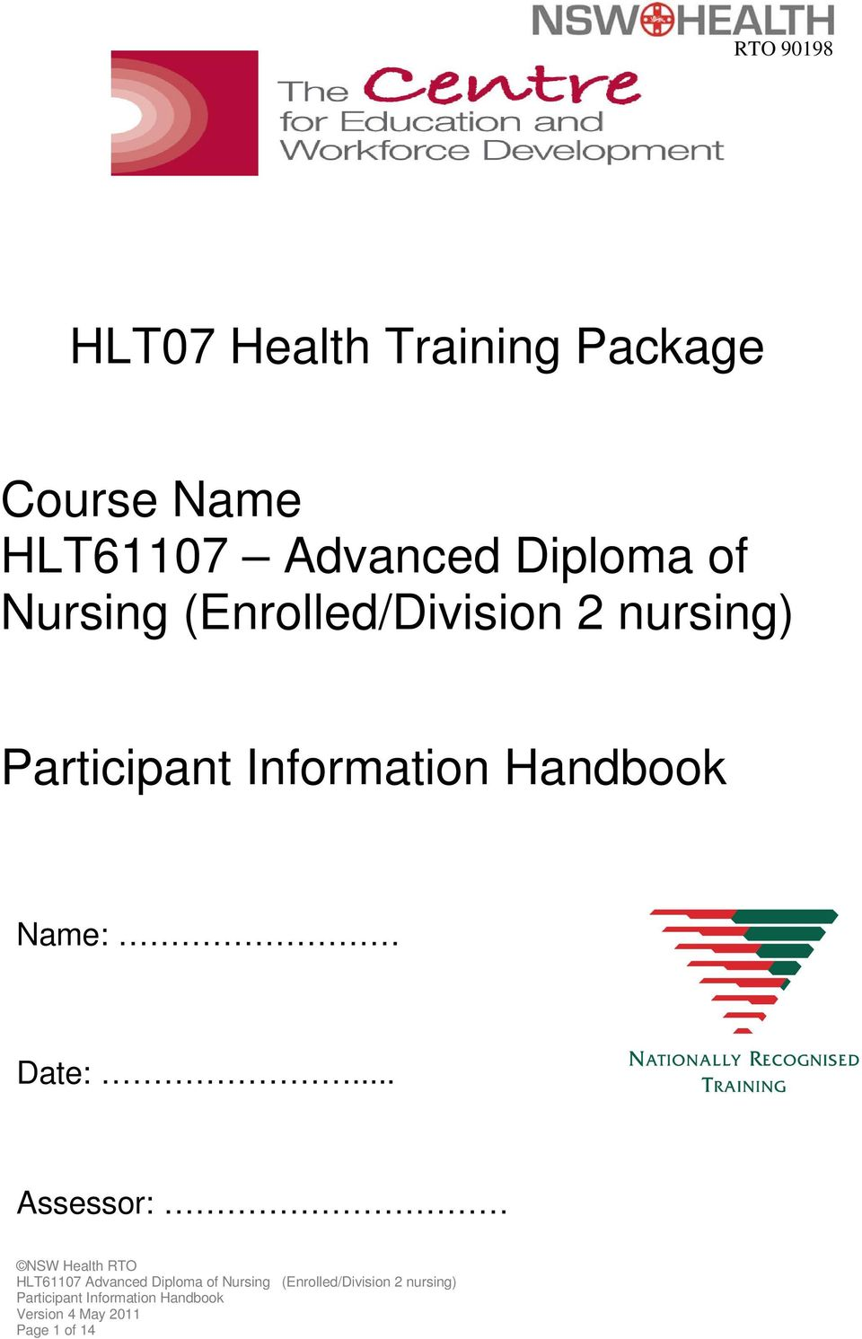 Nursing (Enrolled/Division 2