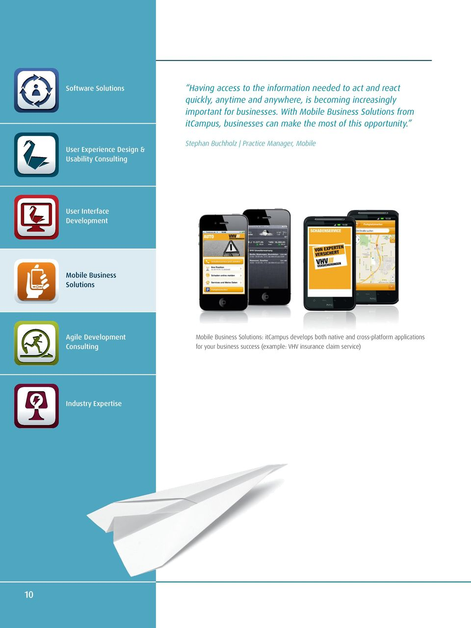 With Mobile Business Solutions from itcampus, businesses can make the most of this opportunity.