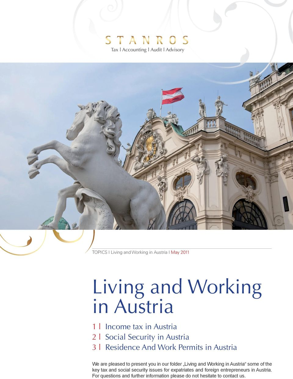 folder Living and Working in Austria some of the key tax and social security issues for expatriates and