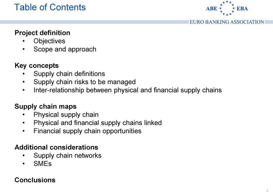 supply chains Supply chain maps Physical supply chain Physical and financial supply chains linked