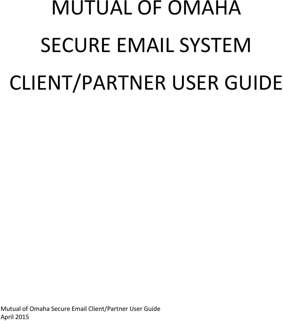 GUIDE Mutual of Omaha Secure