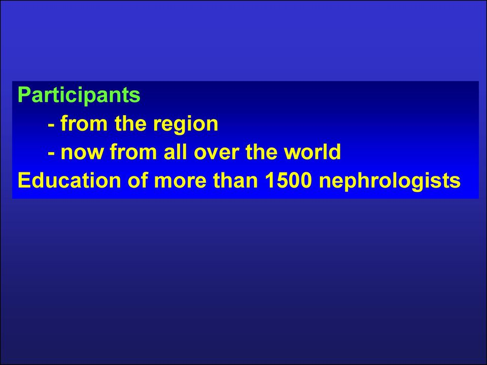 over the world Education