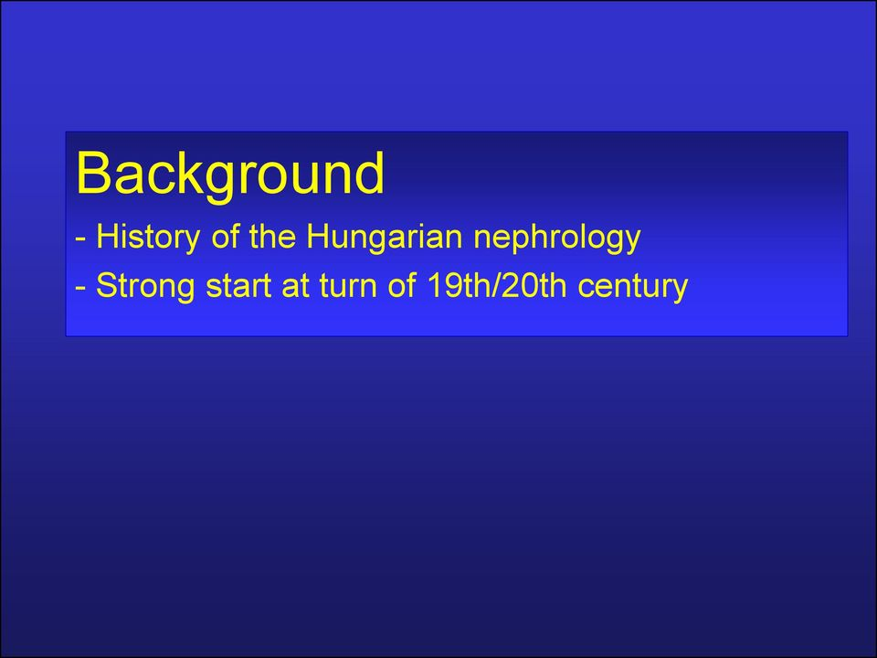 nephrology - Strong