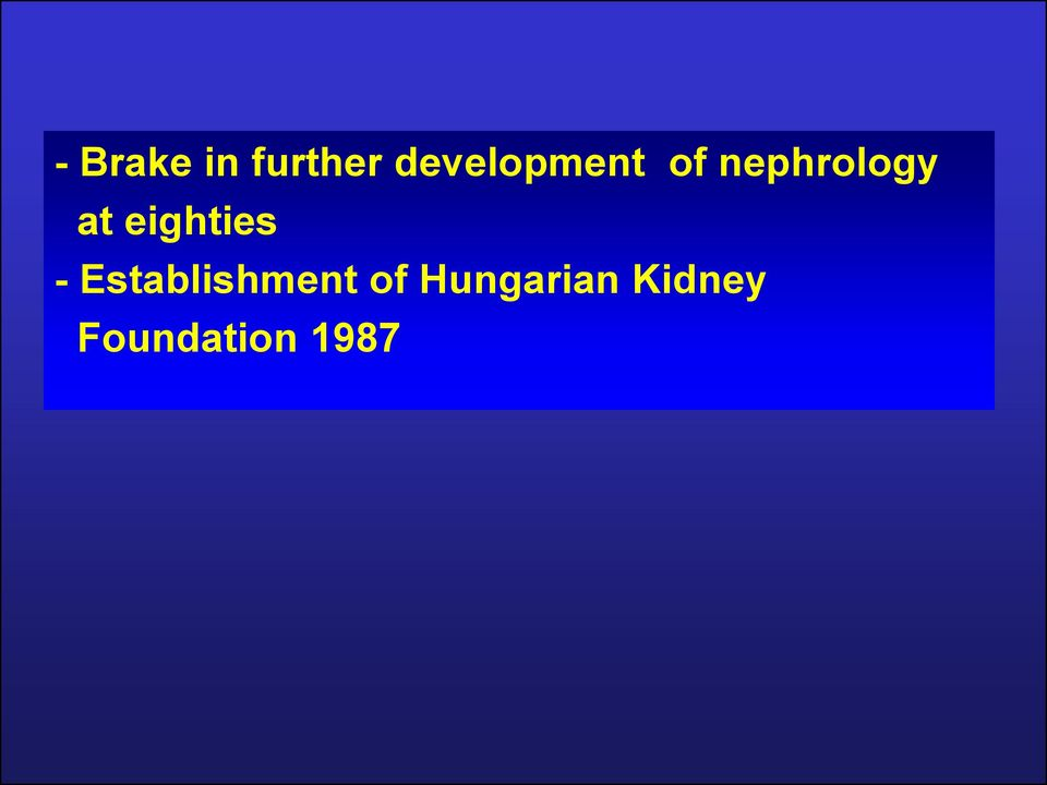 at eighties -