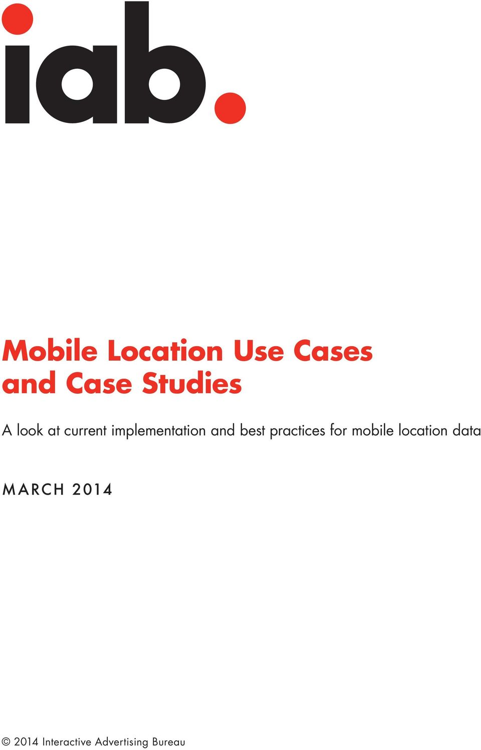 and best practices for mobile location