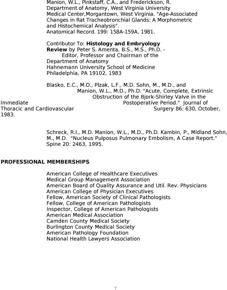 WILLIAM LOUIS MANION, MD, - PDF