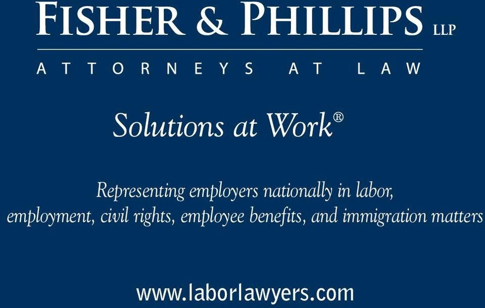 rights, employee benefits, and