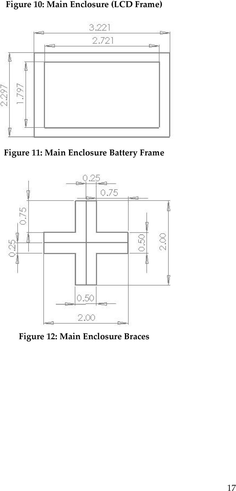 Enclosure Battery Frame